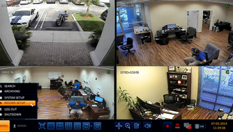 cctv surveillance and recording